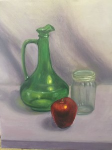First decent color still life painting 4-11-15
